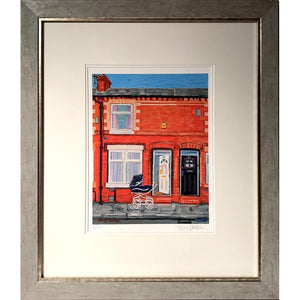 Jerry Gordon - Sunny Day 29 Newlyn Street - Framed Edition - De Lacey Fine Art