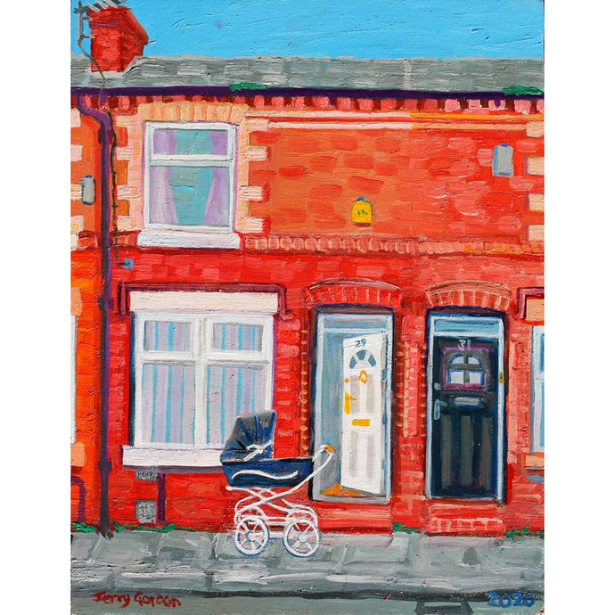 Jerry Gordon - Sunny Day 29 Newlyn Street - Ltd Edition - De Lacey Fine Art