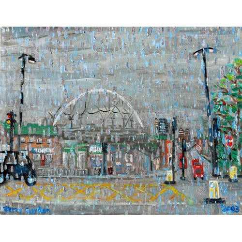 Jerry Gordon - Wembly Stadium - De Lacey Fine Art