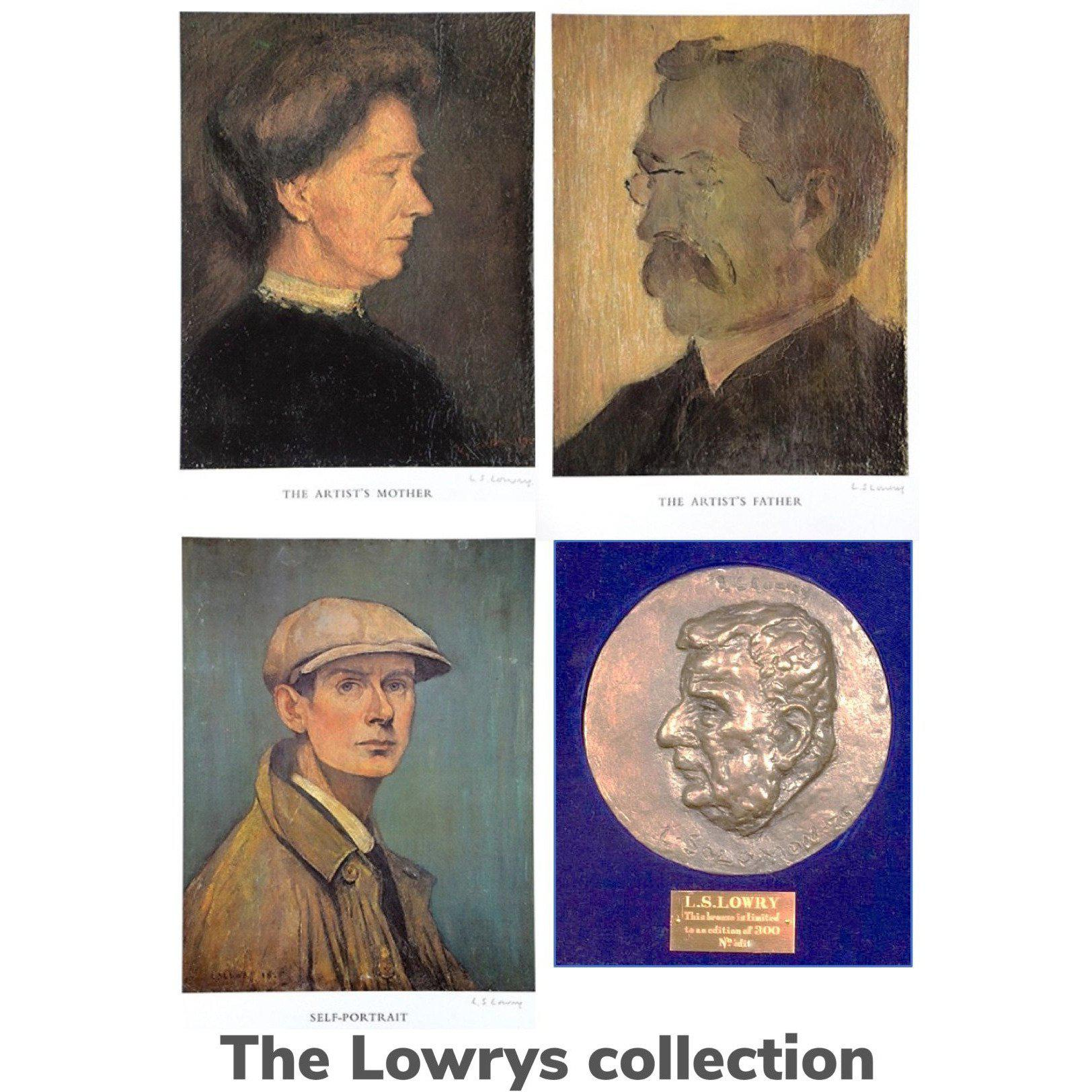 L S Lowry - The Lowrys Collection, signed limited prints