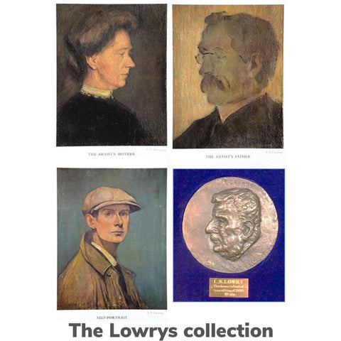 L S Lowry - The Lowrys Collection limited edition prints