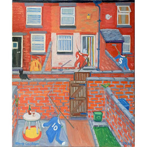 Jerry Gordon - The colour of neighbourly love, Rusholme - De Lacey Fine Art