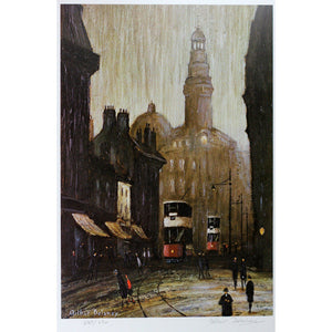Arthur Delaney Signed Ltd Ed Print Northern Art- 'Royal Exchange' - De Lacey Fine Art