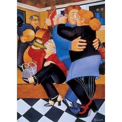 Beryl Cook Signed Ltd Ed Lithograph Print - 'Shall we Dance' - De Lacey Fine Art