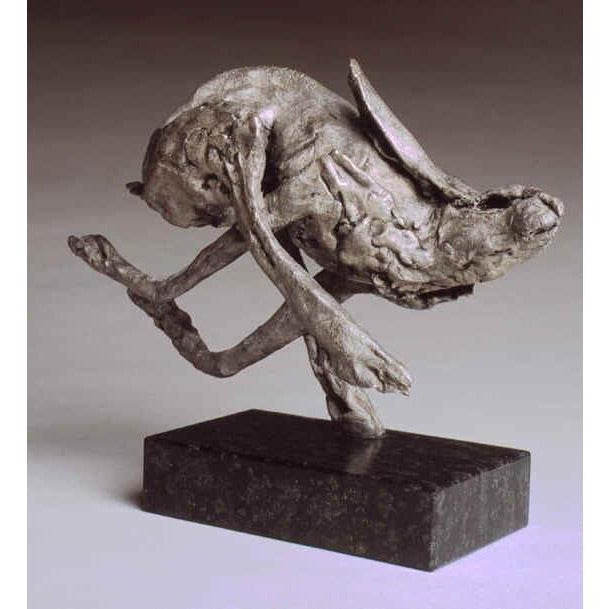 Emma Rodgers Running Hare - De Lacey Fine Art