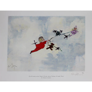 Frances Lennon Signed Print - To Fairyland they flew,,, - De Lacey Fine Art