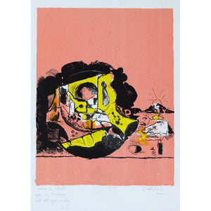 Graham Sutherland Signed Ltd Ed Lithograph Print - Object on Shore - De Lacey Fine Art