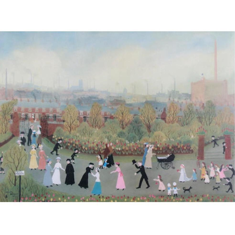 Helen Bradley The Park on May Day