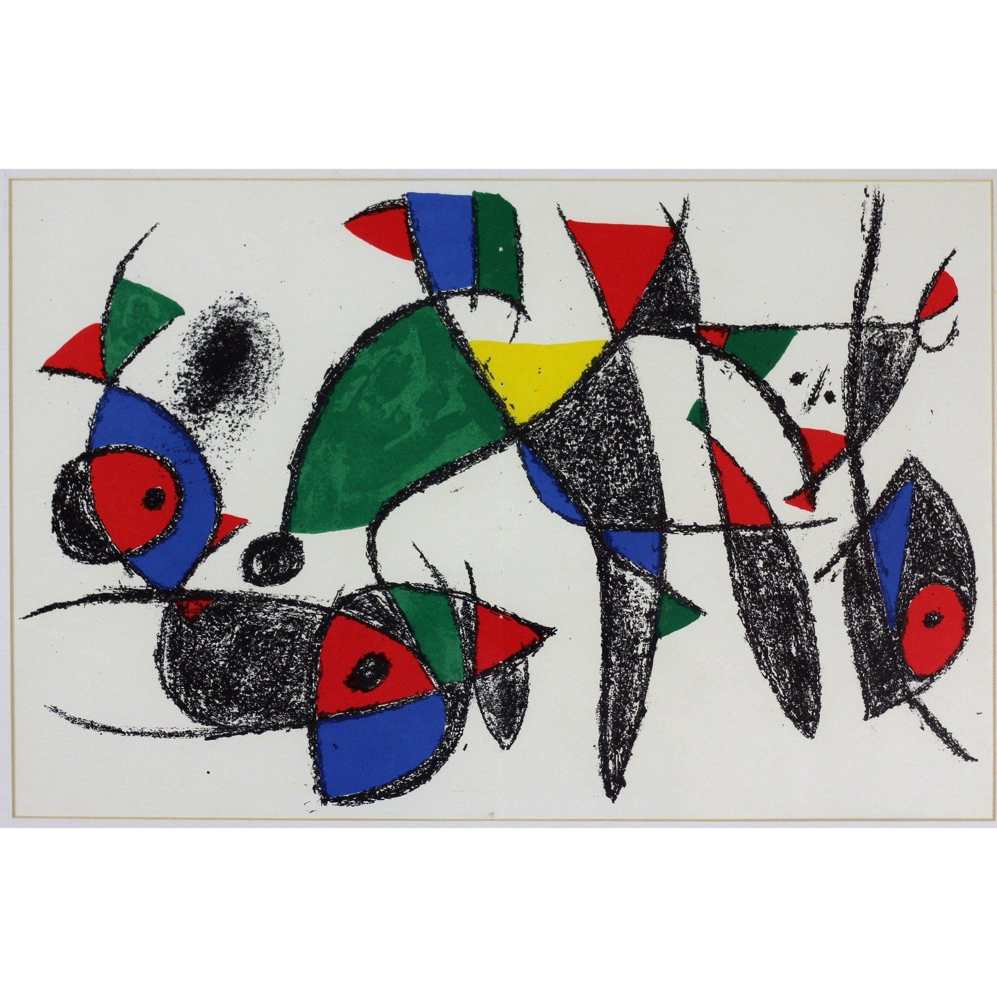 Joan Miro - Lithograph - Untitled 2