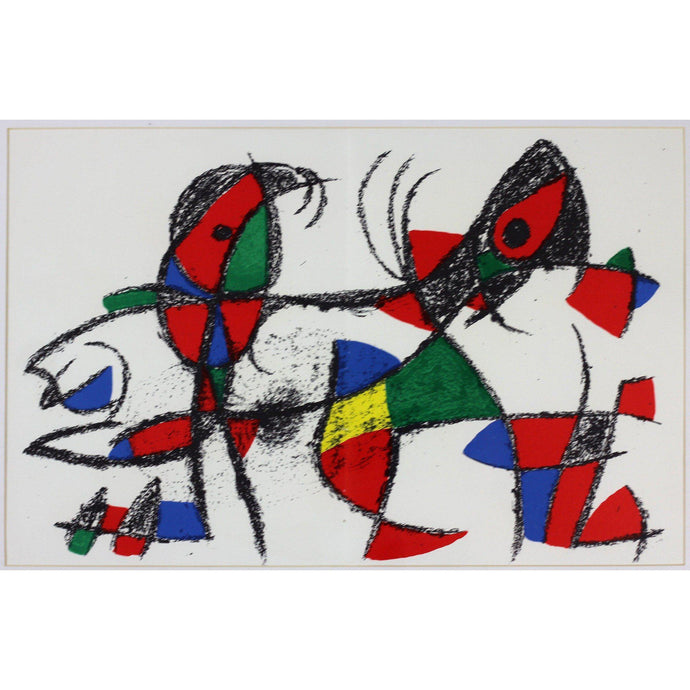 Joan Miro Ltd Ed Lithograph - Untitled 3 - De Lacey Fine Art