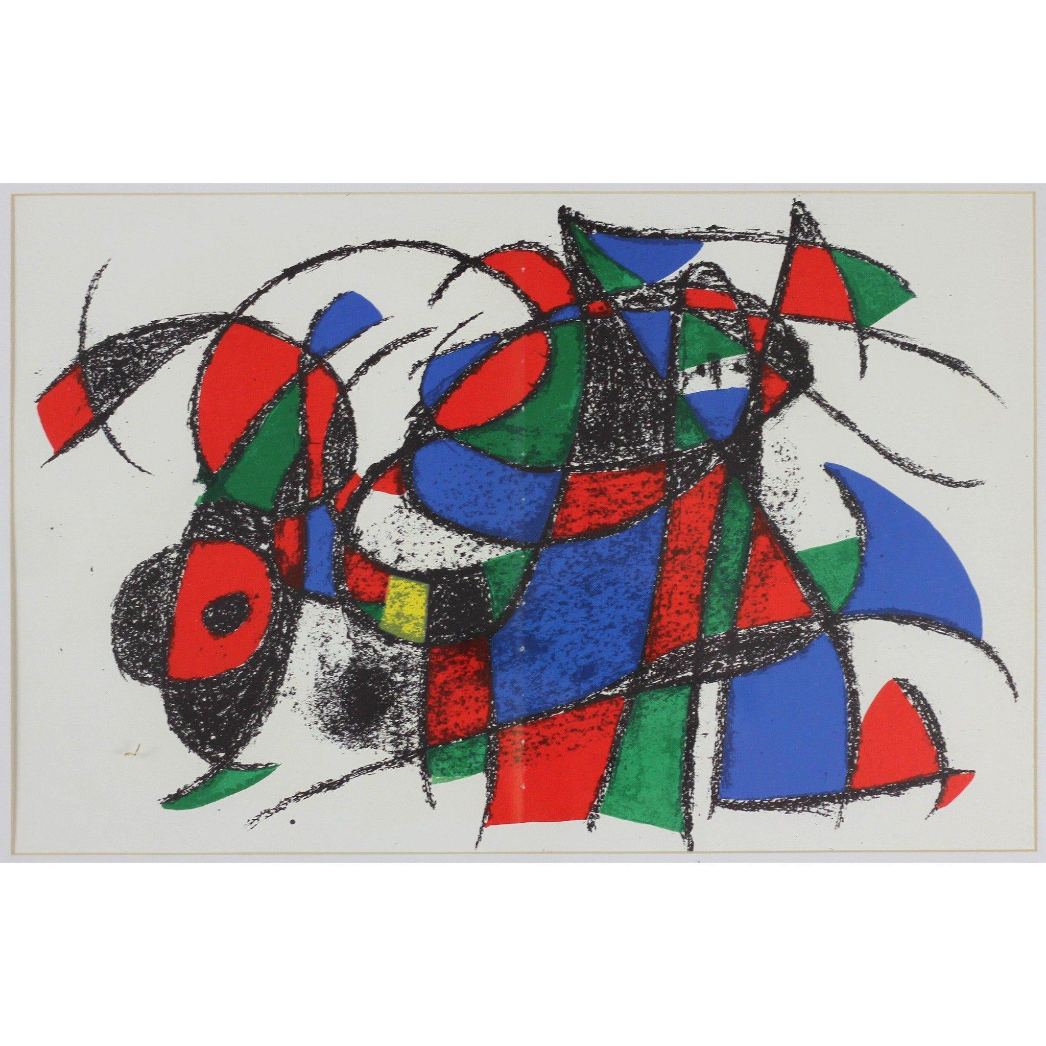 Joan Miro - Lithograph - Untitled 4
