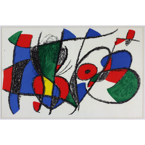 Joan Miro Ltd Ed Lithograph - Untitled 5 - De Lacey Fine Art