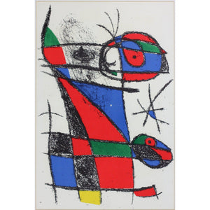 Joan Miro - Lithograph - Untitled 6 - De Lacey Fine Art