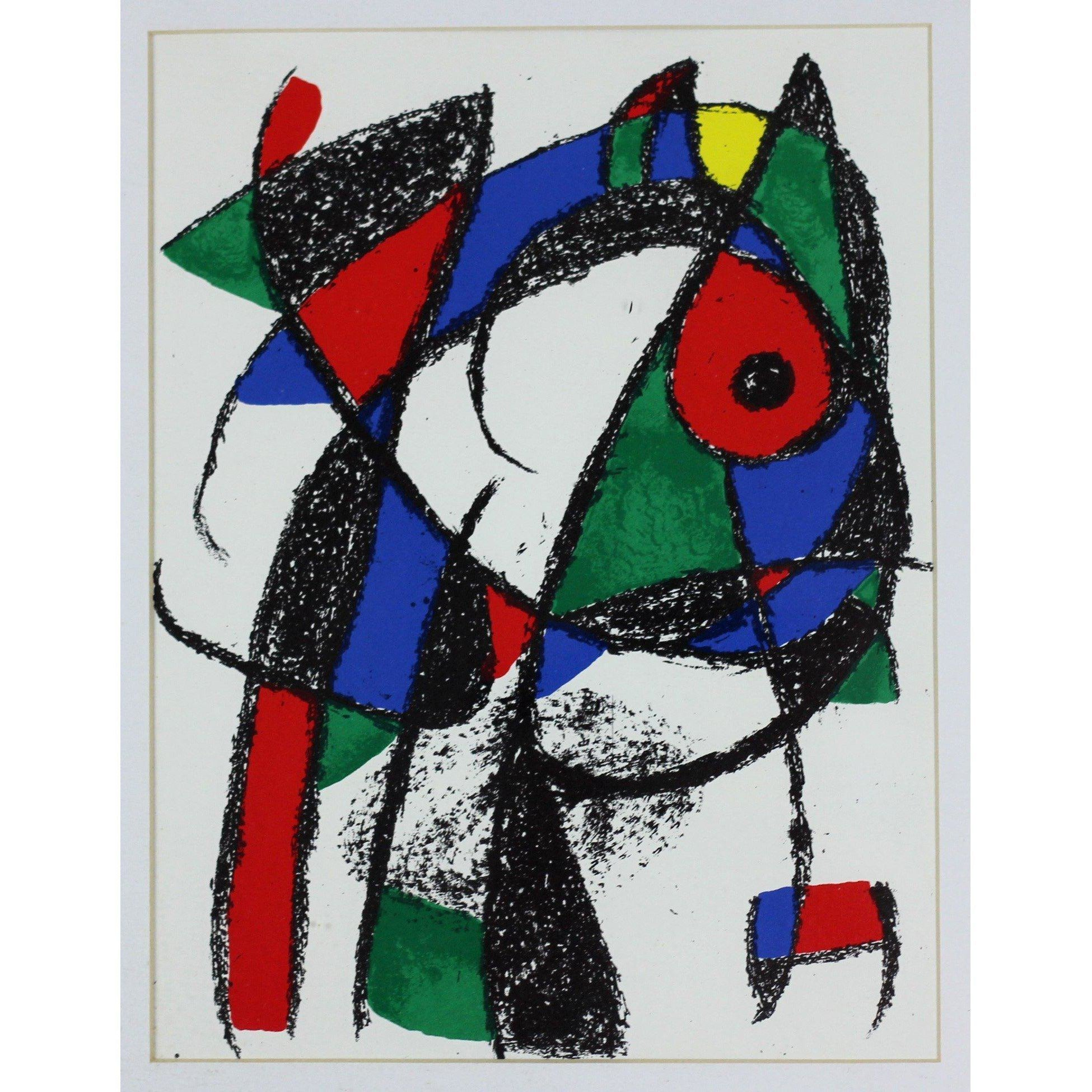Joan Miro - Lithograph - Untitled 7