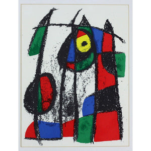 Joan Miro - Lithograph - Untitled 8 - De Lacey Fine Art