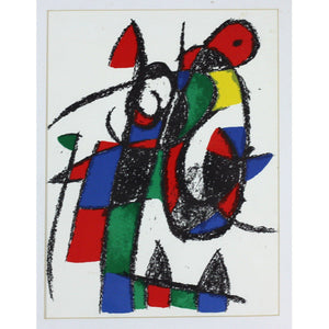 Joan Miro - Lithograph - Untitled 9 - De Lacey Fine Art