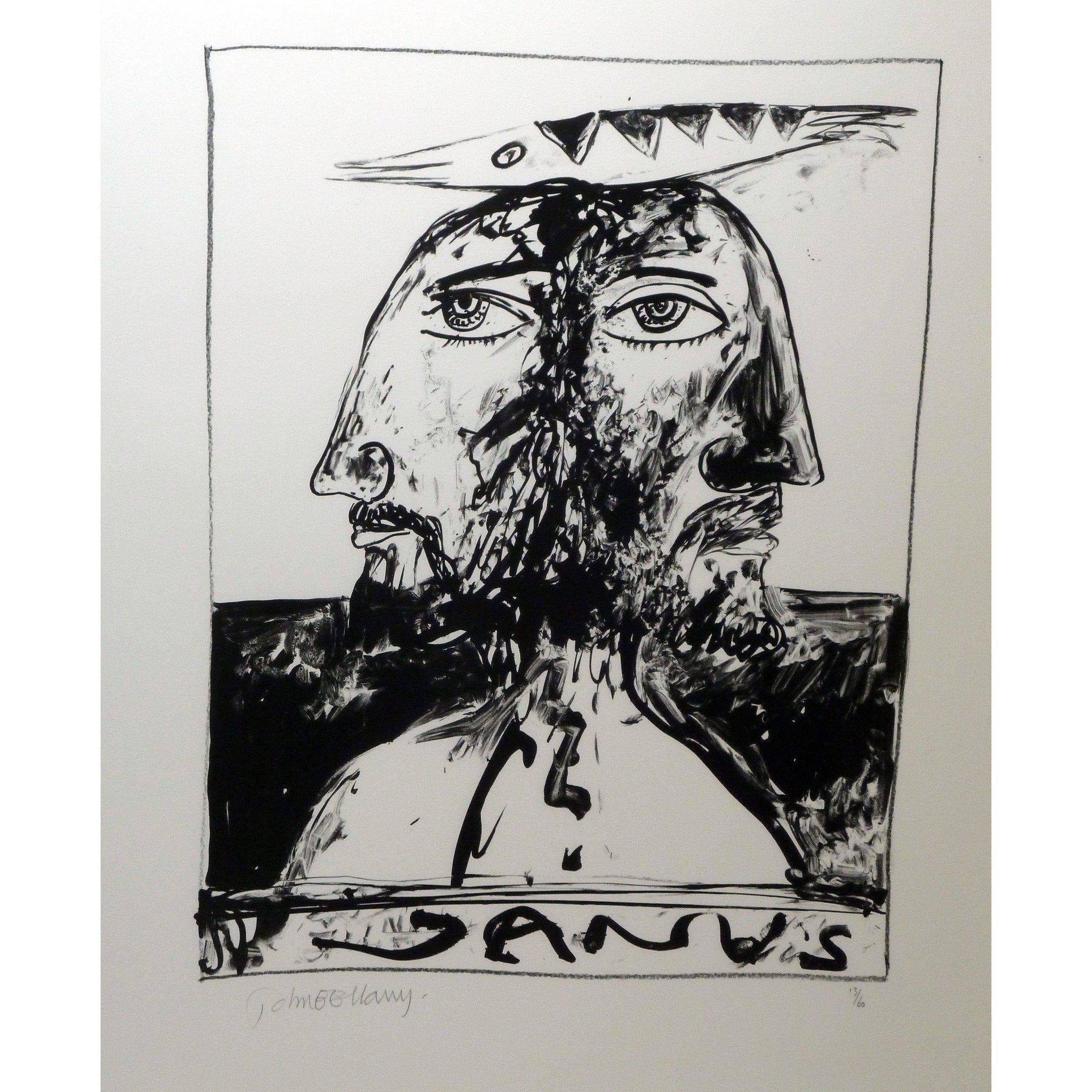 John Bellany Signed Ltd Ed Lithograph Print - Call of the sea suite 3