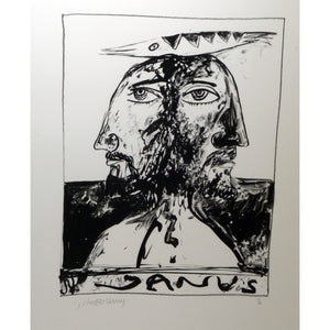 John Bellany Call of the Sea Suite Print 3 - De Lacey Fine Art