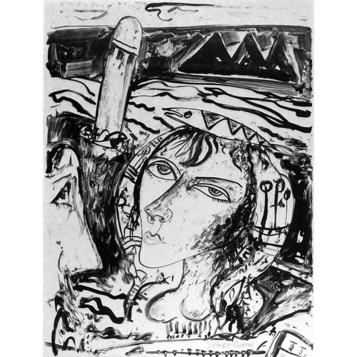 John Bellany Signed Ltd Ed Lithograph Print - Call of the sea suite 4 - De Lacey Fine Art