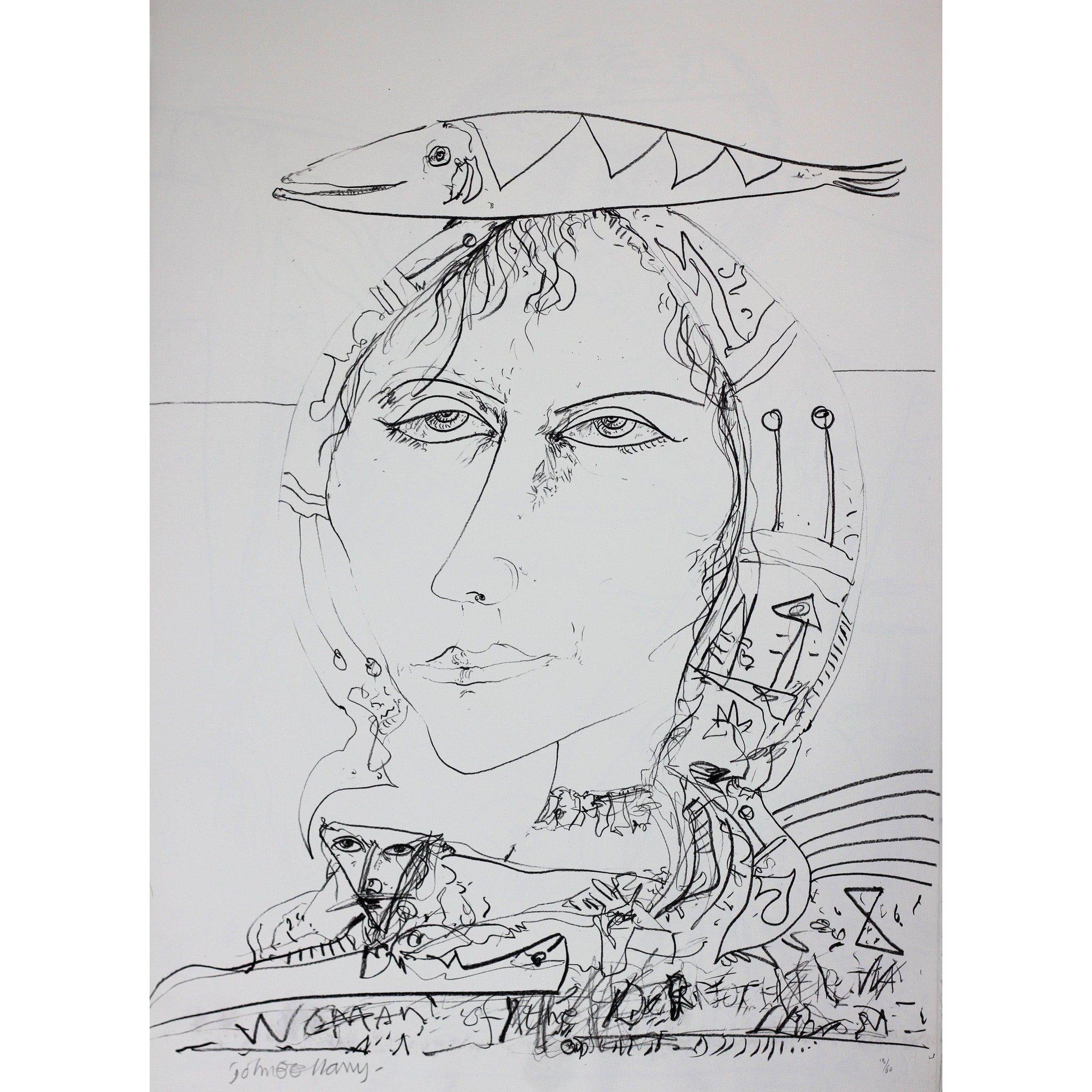 John Bellany Signed Ltd Ed Lithograph Print - Call of the sea suite 8