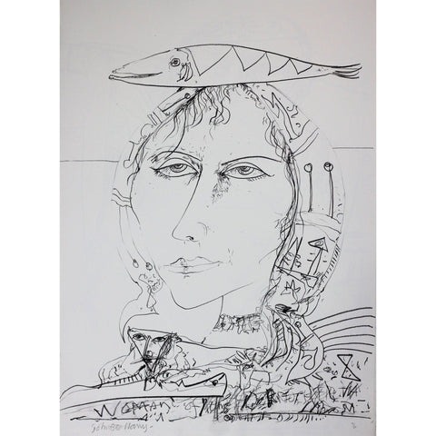 John Bellany Call of the Sea Suite Print 8