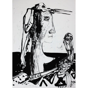 John Bellany Call of the Sea Suite Print 9 - De Lacey Fine Art