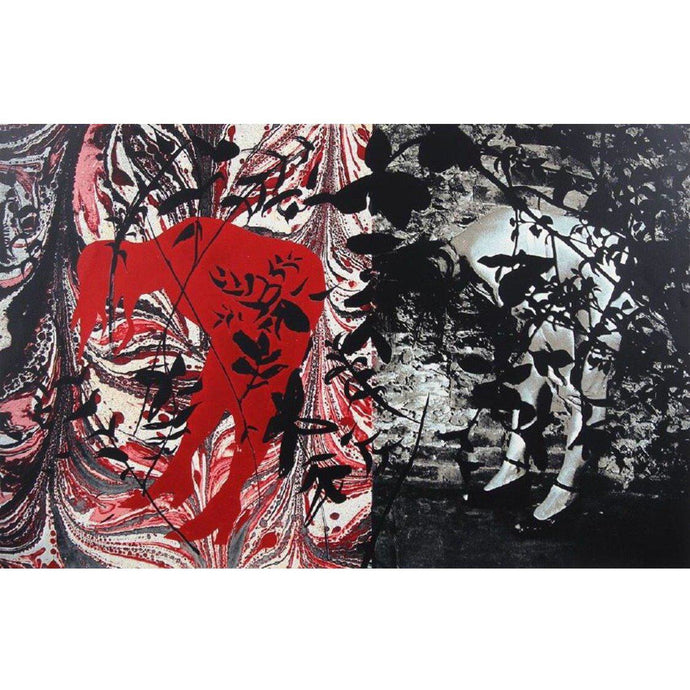 John Piper - Eye and Camera: Red and Black - De Lacey Fine Art