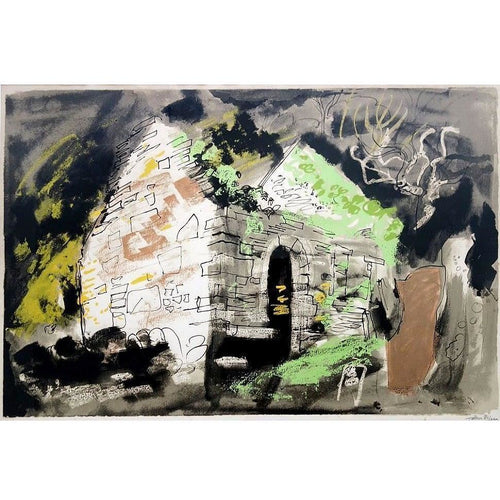 John Piper Signed Ltd Ed Lithograph Print - Kirkmaide - De Lacey Fine Art