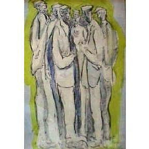 John Thompson Original Watercolour - Group 187