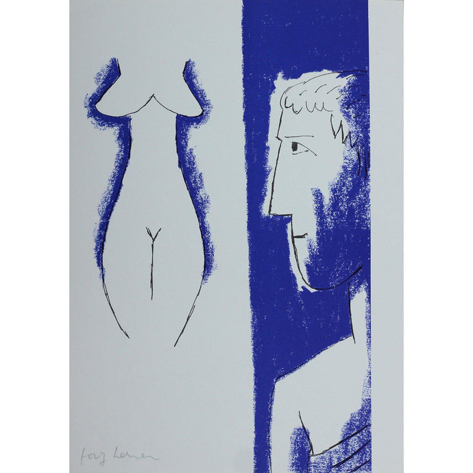 Josef Herman Signed Ltd Ed Print - Catullus, The Artist - De Lacey Fine Art