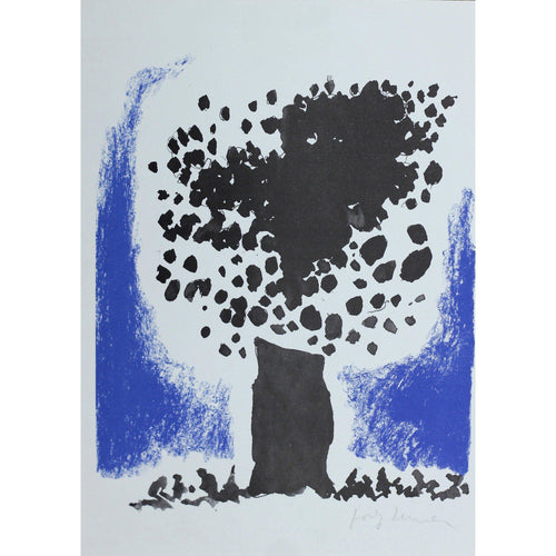 Josef Herman Signed Ltd Ed Print - Catullus, The Tree - De Lacey Fine Art