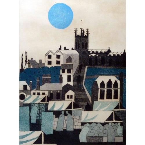 Julian Trevelyan Signed Ltd Ed Print - - Macclesfield - De Lacey Fine Art