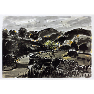 Kyffin Williams Limited Edition Print - - Nanmor - De Lacey Fine Art