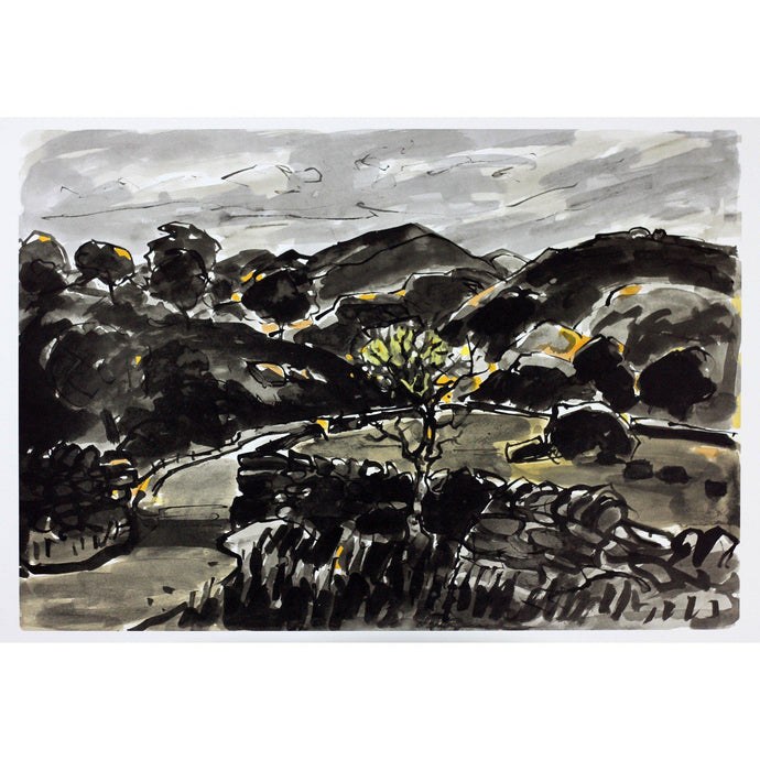 Kyffin Williams Limited Edition Print - Nanmor - De Lacey Fine Art