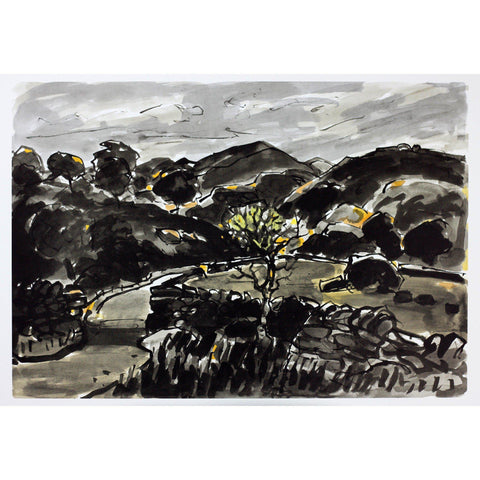 Kyffin Williams Limited Edition Print - Nanmor