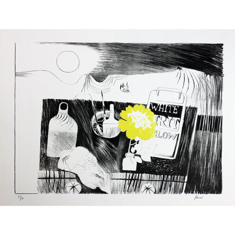Mary Fedden Signed Ltd Ed Print - The Etching Table