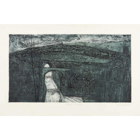 Norman Ackroyd - Signed Etching 'Malignant Topography'