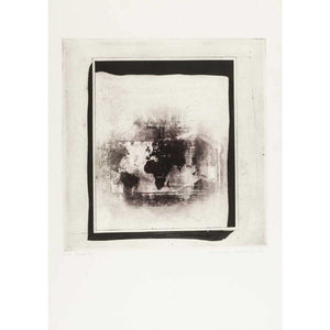 Norman Ackroyd - Signed Etching 'Pink Scene' - De Lacey Fine Art