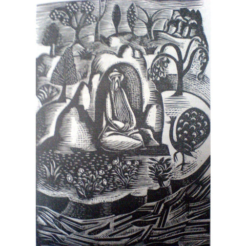 Paul Nash Ltd Ed Woodcut Print - Boredom
