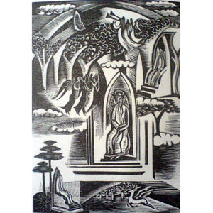 Paul Nash Ltd Ed Woodcut Print - Heaven - De Lacey Fine Art