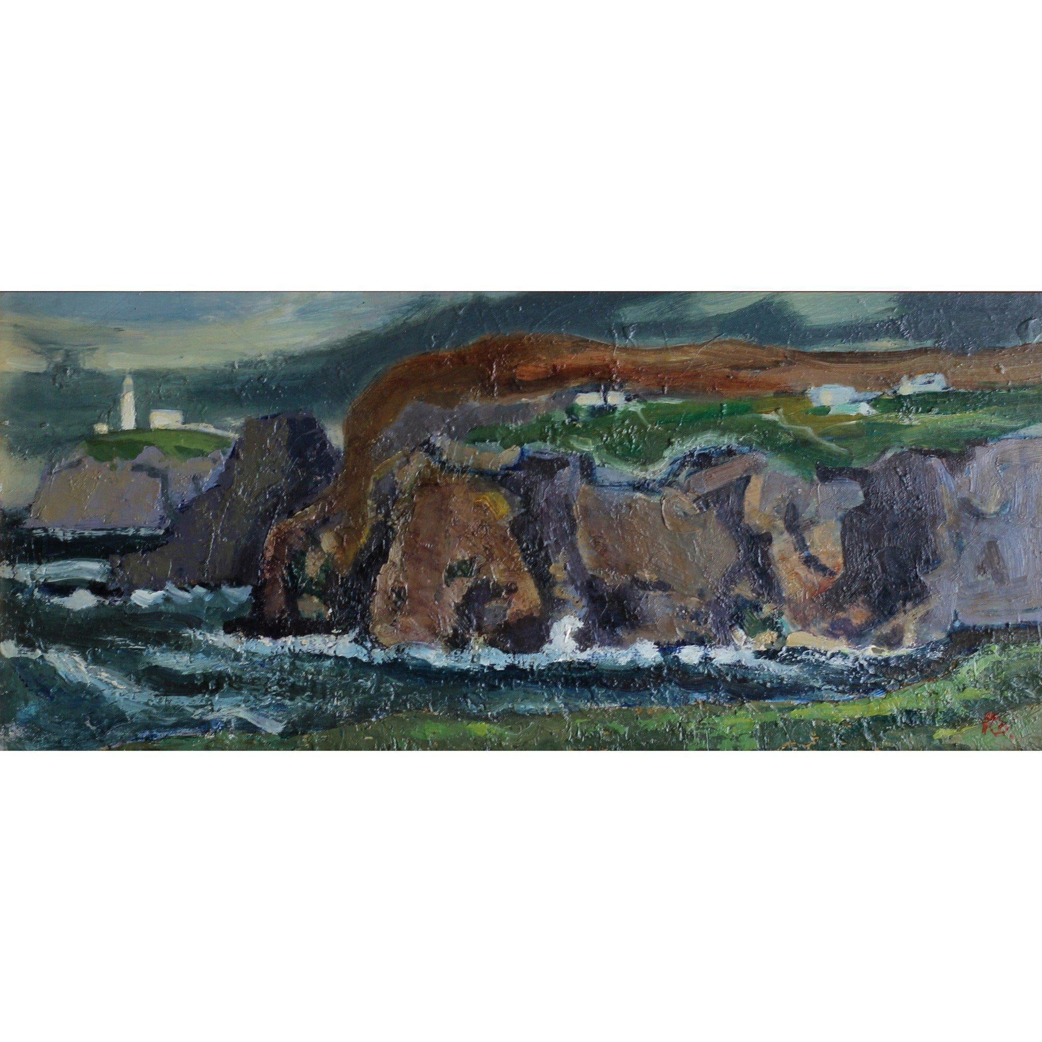 Robert Dawson - Welsh Sea Scape