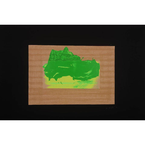 Sir Howard Hodgkin Signed Ltd Ed Print - Indian View D