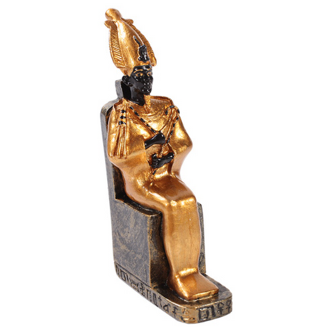 Osiris Sitting Statue - Small 3""