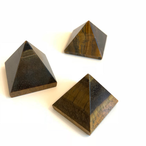 Gemstone Pyramid - Tiger Eye