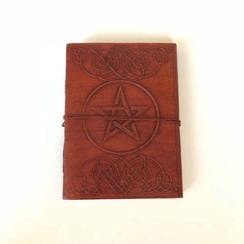 Leather Pentacle Journal / Grimoire