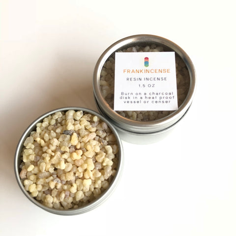 Frankincense Resin Incense - 1.5oz Tin