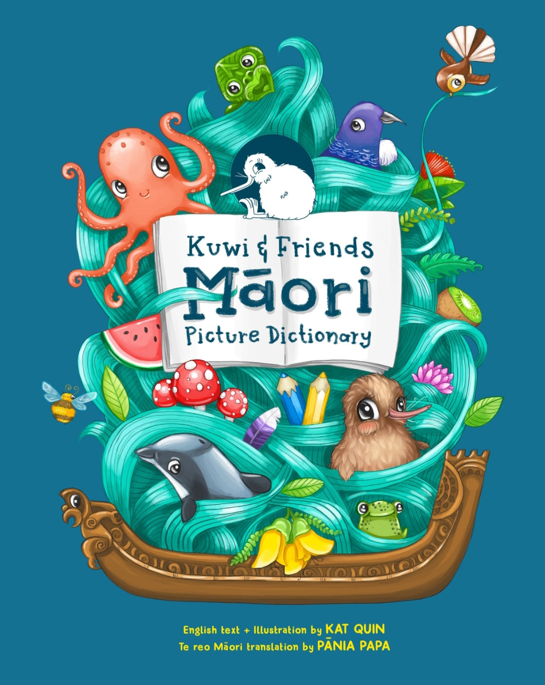 The Kuwi and Friends Māori Picture Dictionary