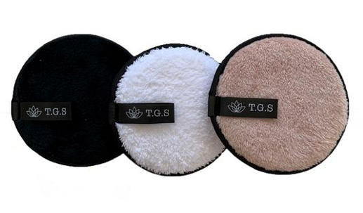 Reusable Makeup Remover Pads - set of 3