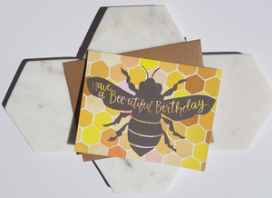 Bee-utiful Birthday Card