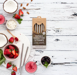 Caliwoods - Reuseable Smoothie Straws
